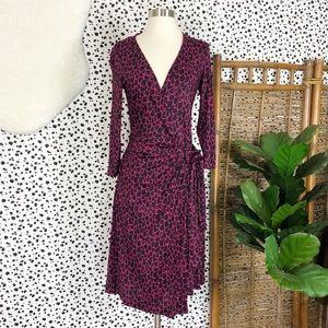Diane Von Furstenberg | Silk Raspberry Wing Dress